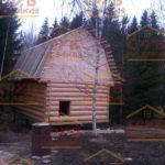 сруб дома 4 на 5 с ломанной крышей (1)